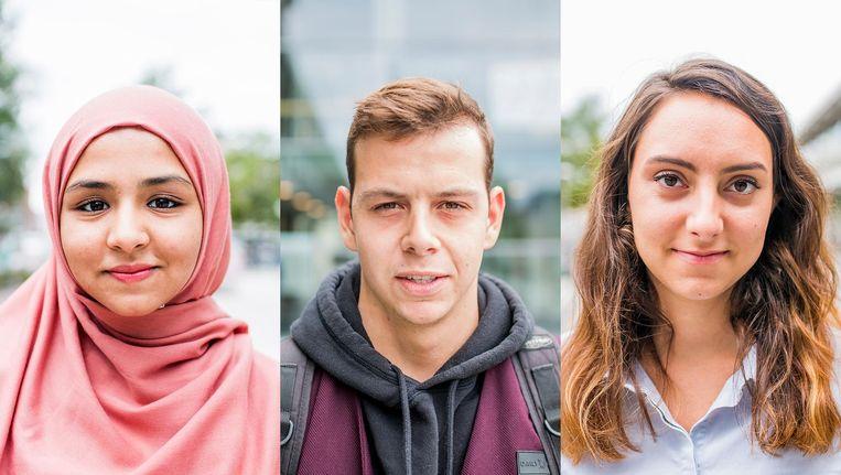 Vijf studenten vertellen waar en waarom zij lid worden. Beeld Jesper Boot