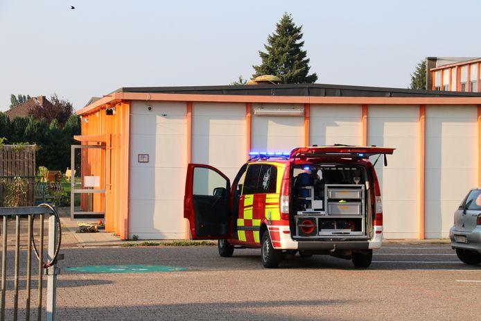 De brandweer voerde een grondige controle uit.