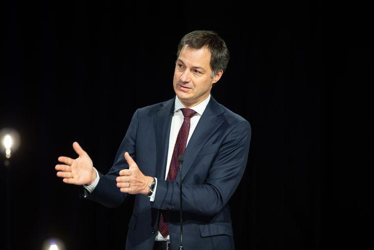 Minister van Financiën Alexander De Croo (Open Vld). Beeld BELGA