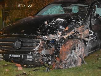 Bestuurster (30) richt ravage aan in Ruddervoorde: hal en voortuin van woning sneuvelen bij zware crash