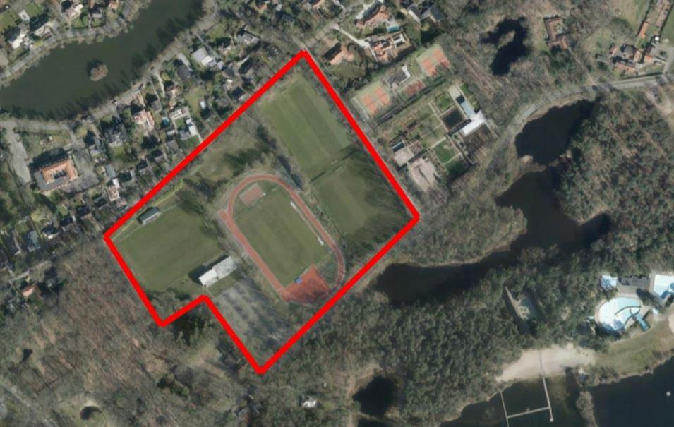 Op het Taxandria-terrein wil Oisterwijk woningen gaan bouwen