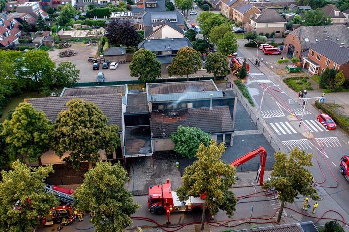 De brand bij de kerk in Nijmegen veroorzaakte veel schade.