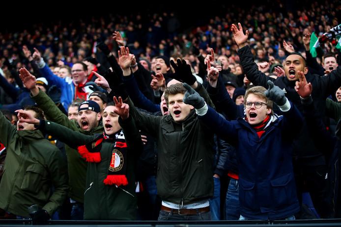 Supporters van Feyenoord