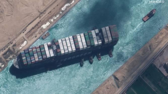"""""""Suezkanaal nog voor zondag filevrij"""""""