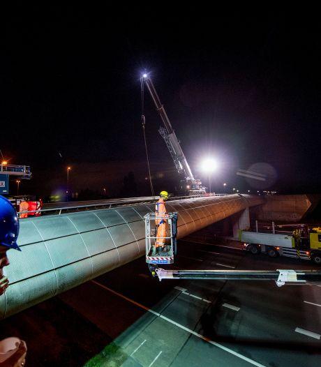 A2 bij Diefdijk gaat van zuid naar noord nacht dicht vanwege hoogwateroefening