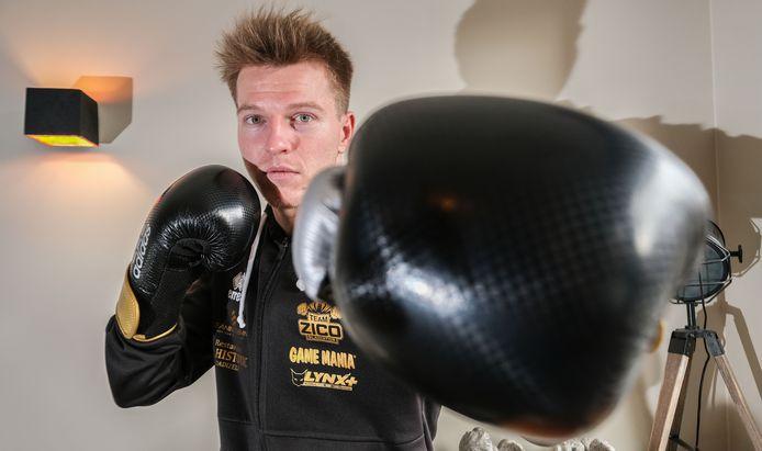 Zico Waeytens, de ex-wielrenner die bokser werd.