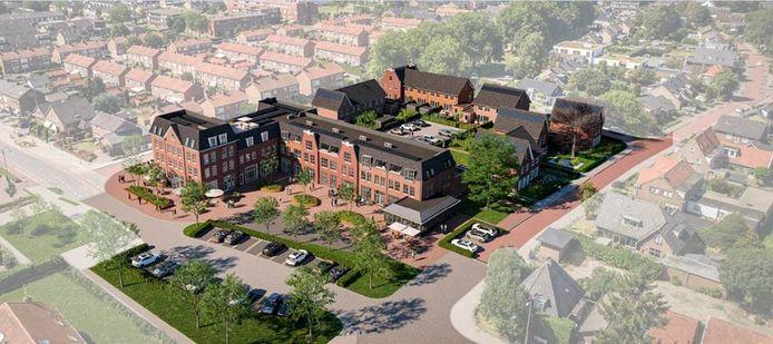 Het nieuwe Hart van Heteren, de verkoop van de woningen en appartementen is begonnen.