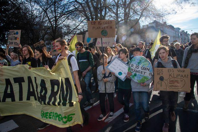 10.000 deelnemers voor Gentse klimaatmars.