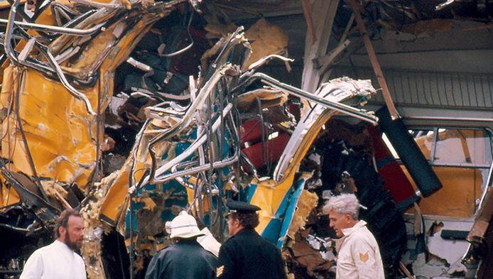 De treinramp in Schiedam op 4 mei 1976 eiste 24 slachtoffers.