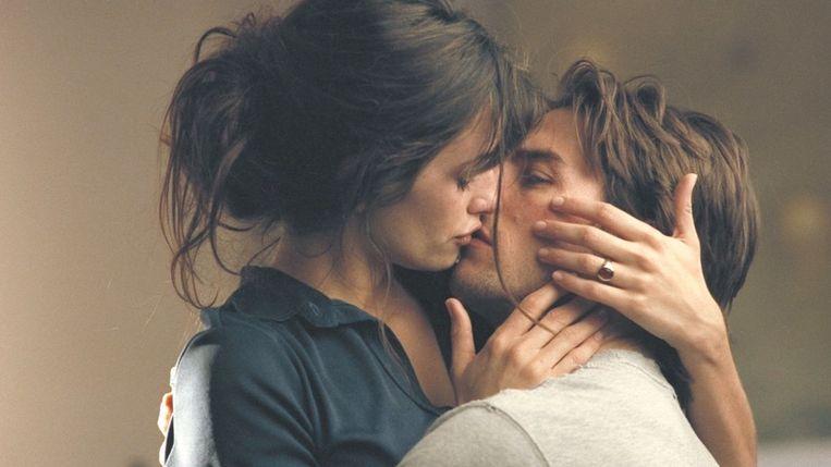 Penélope Cruz en Tom Cruise in Vanilla Sky van Cameron Crowe. Beeld
