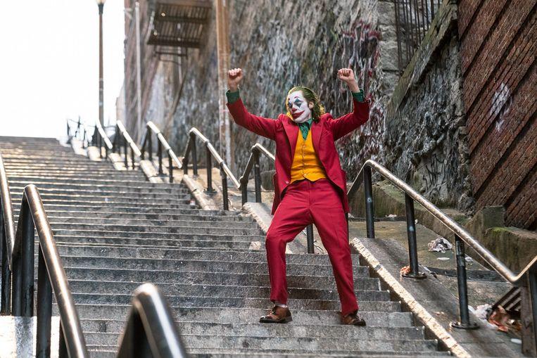 Rood in de fout: The Joker. Beeld Warner Bros