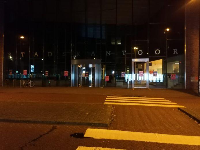 Zwarte Pieten Actiegroep demonstreerde vannacht in Enschede, Hengelo, Oldenzaal en Deventer.