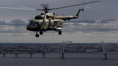 Vier soldaten overleden bij crash van Russische helikopter