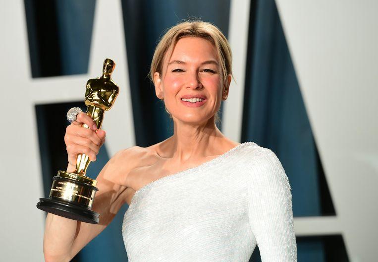 Reneé Zellweger op de Oscars.
