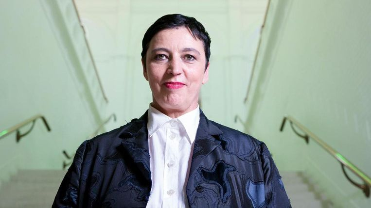Beatrix Ruf van het Stedelijk Museum wordt gezien als een van de machtigste mensen in de kunstwereld. Beeld anp