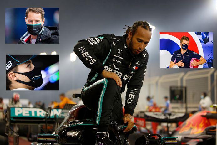 Er zijn meerdere gegadigden voor het kuipje van Lewis Hamilton.