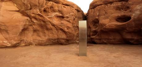 Le mystérieux monolithe découvert dans le désert de l'Utah a disparu