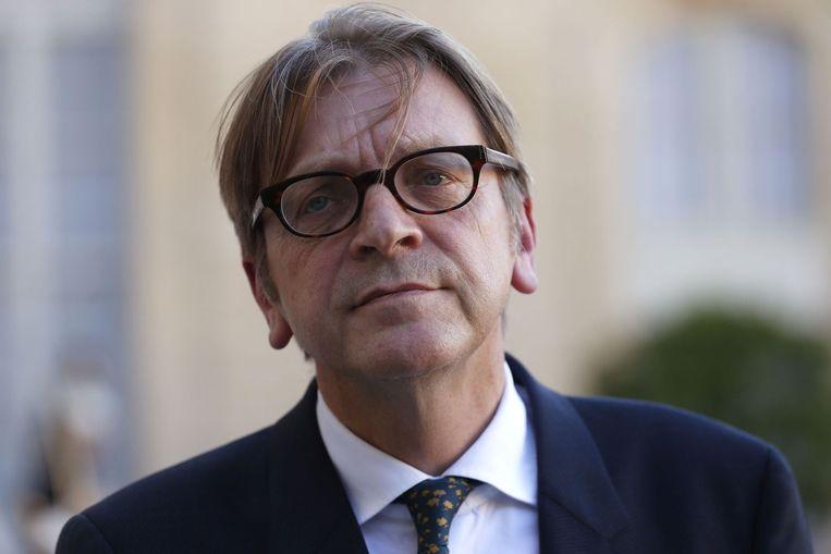 Guy Verhofstadt. Beeld anp