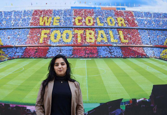 Voormalige teamkapitein Khalida Popal leeft sinds 2011 in ballingschap in Denemarken, maar is blijven vechten voor de vrouwenrechten in haar vaderland. In 2019 bracht ze een bezoek aan FC Barcelona tijdens de presentatie van een rapport van Unicef.