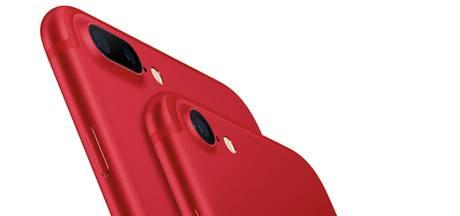Apple maakt knalrode iPhone 7 en 7 Plus