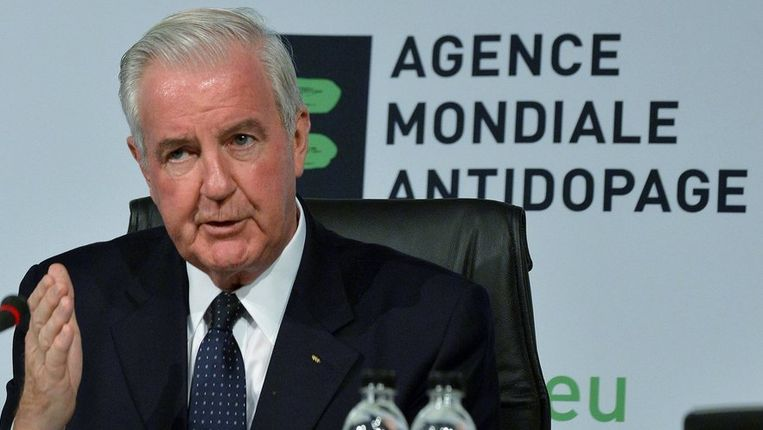 Craig Reedie is president van anti-dopingbolwerk WADA. Beeld REUTERS