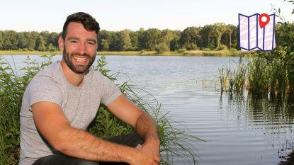 """De warmste vakantieplek van Vlaanderen, met zanger Metejoor: """"Veel relaties zijn begonnen aan de vijver van het Grotenhoutbos"""""""