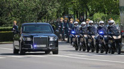 'The Beast' van Poetin: Russische president pronkt met zijn spiksplinternieuwe Russische limo