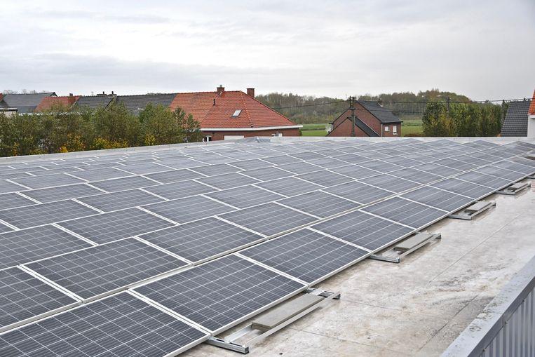 De firma DEVILO NV waar een winkel van de keten Gamma word uitgebaat heeft een investering in zonnepanelen gedaan.
