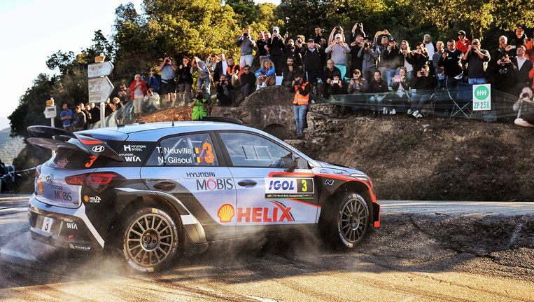 Thierry Neuville. Beeld Photo News