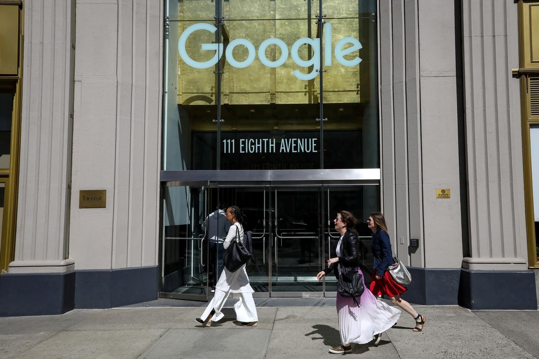 Het kantoor van Google in New York. Beeld Reuters
