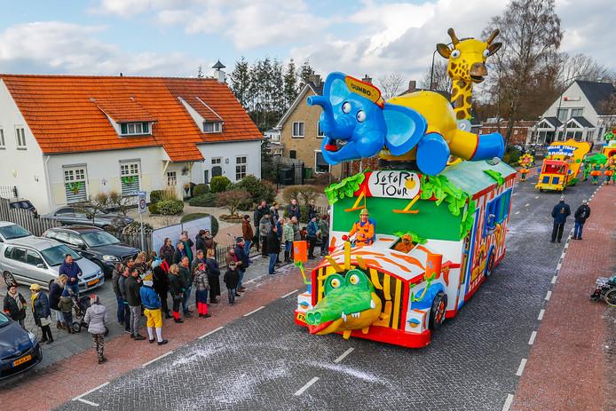 Carnavalsoptocht in Budel.