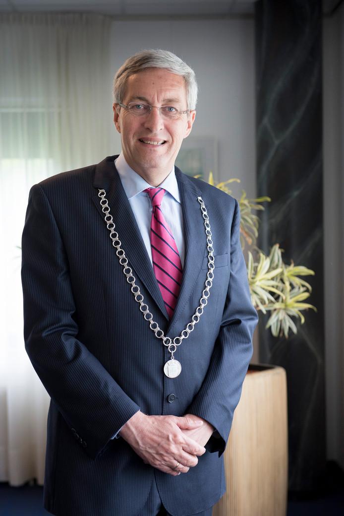 Burgemeester André Borgdorff van de gemeente Binnenmaas.