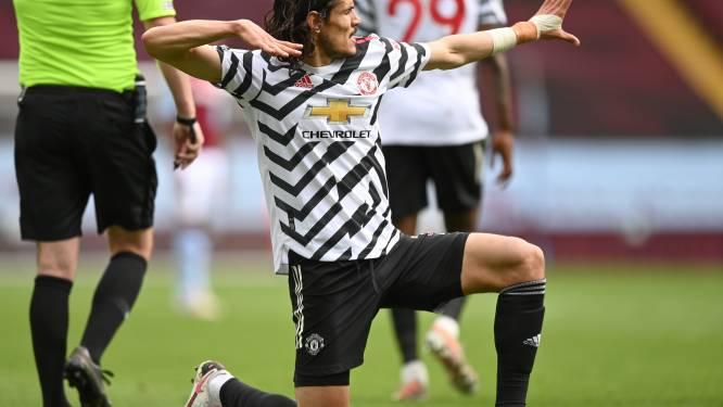 Football Talk. Cavani blijft jaar langer bij Manchester United - Fulham degradeert uit Premier League