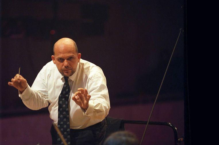 Dirigent Jaap van Zweden Beeld anp