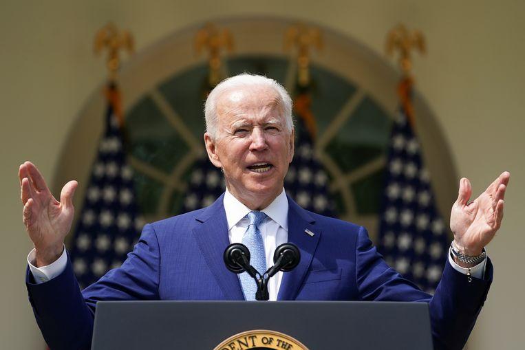 Amerikaans president Joe Biden. Beeld REUTERS