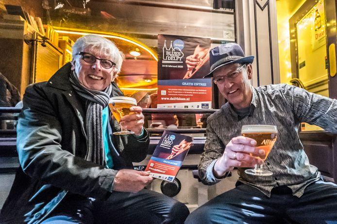 Leo Quack en Joep Soelman bereiden Delft Blues 2020 voor