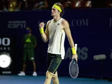 Zverev noemt bevriezen wereldranglijst absurd: 'Federer speelde een jaar niet, maar staat boven mij'