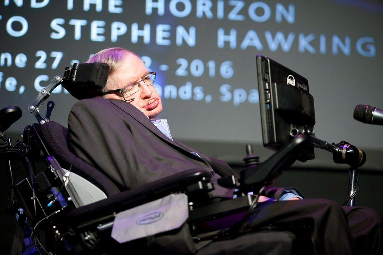 Stephen Hawking. Beeld EPA