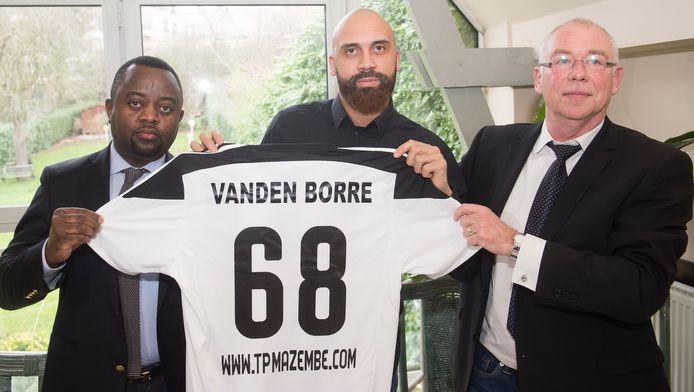 La dernière aventure sportive d'Anthony Vanden Borre, au TP Mazembe, s'était achevée le 1er juillet 2017.