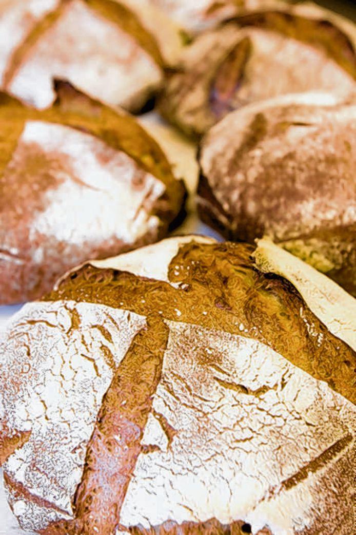 Brood van de Franse bakker Le Fournilin Amsterdam.