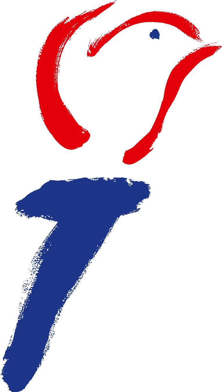 Het rechtenvrije logo van het Nationaal Comité 4 en 5 mei. Beeld