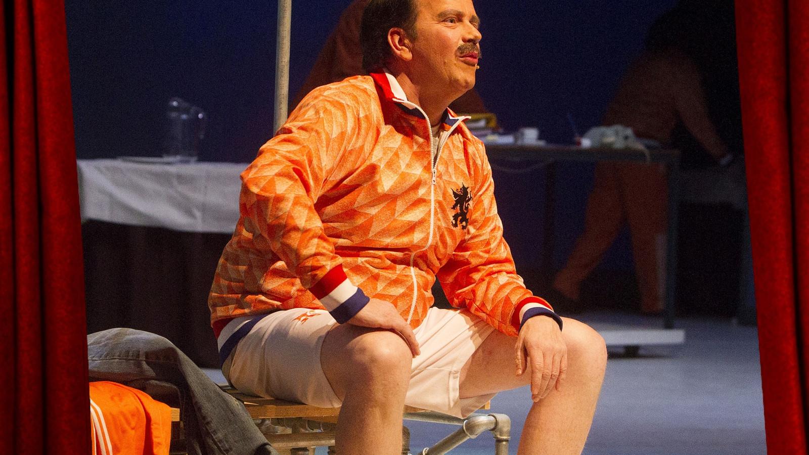 'Berry, de Musical' ging over de Helmondse voetbalheld Berry van Aerle.