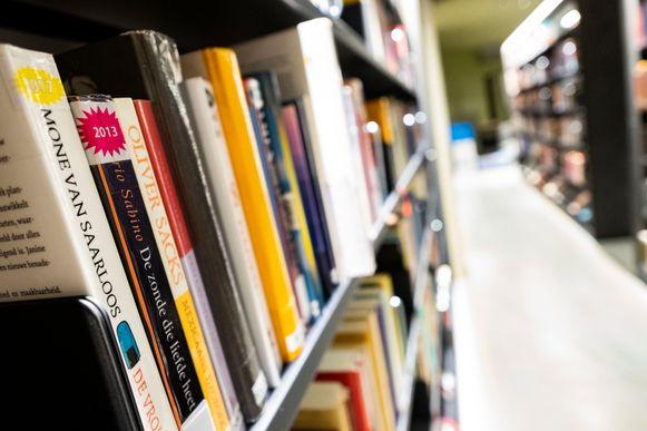 De bibliotheek van Boom.