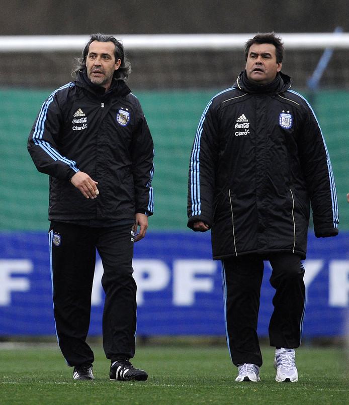 Jose Luis Brown ici à droite.