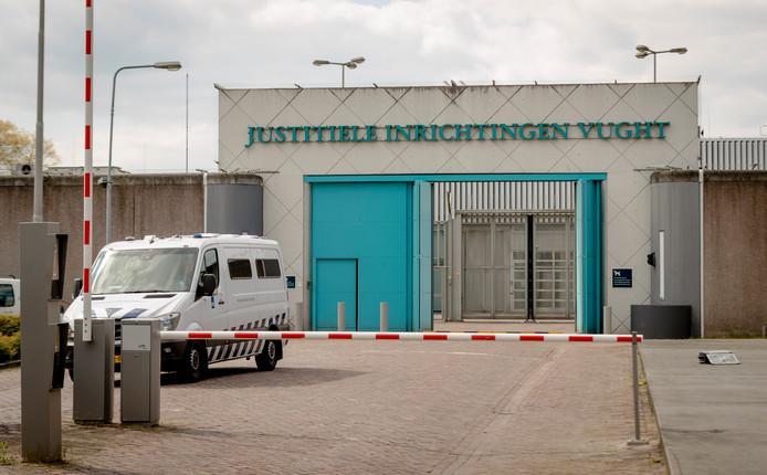 De hoofdingang van de penitentiaire inrichting Vught.