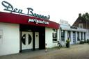 Partycentrum Den Boogaard, met café Cambrinus ernaast, in vroeger dagen