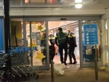 Overvaller van Albert Heijn bij Het Kleine Loo nog niet aangehouden: 'Benader verdachte niet zelf'