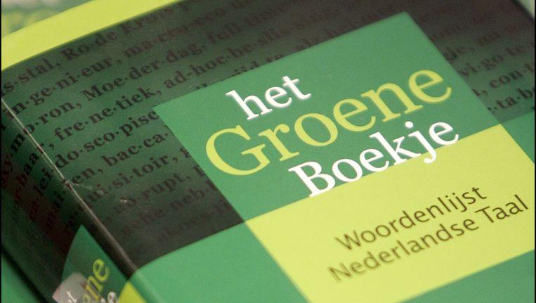 De 44 man sterke Taalunie is vooral bekend als uitgever van het Groene Boekje. Beeld ANP