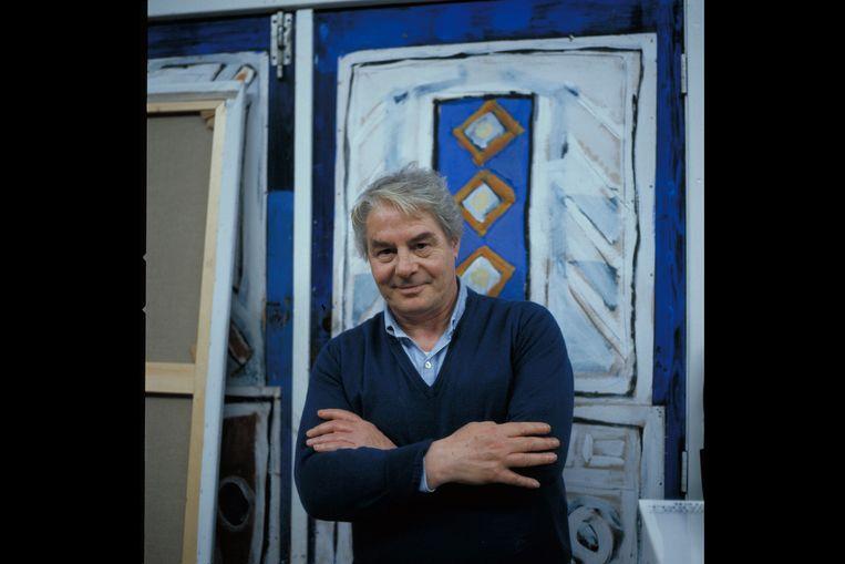 Lucebert (in 1985). De Nederlandse dichter en schilder stond bekend als een linkse progressief, maar had ooit sympathie voor de nazi's. Beeld Hollandse Hoogte / Erven Steye Raviez