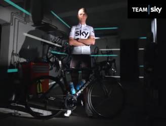 """Team Sky in het wit naar Tour de France: """"We vinden dit allemaal het mooiste"""""""
